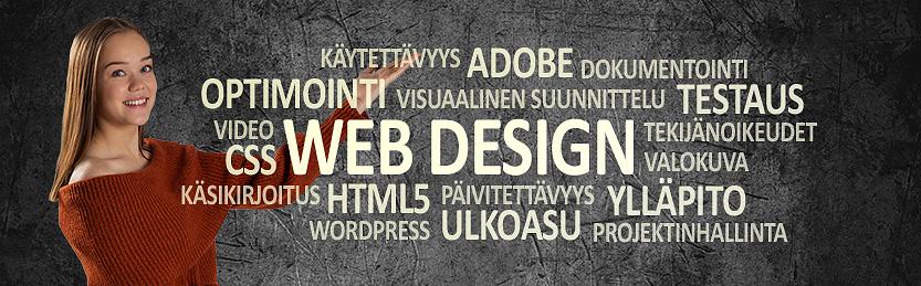 Web designer -koulutus, osatutkinto